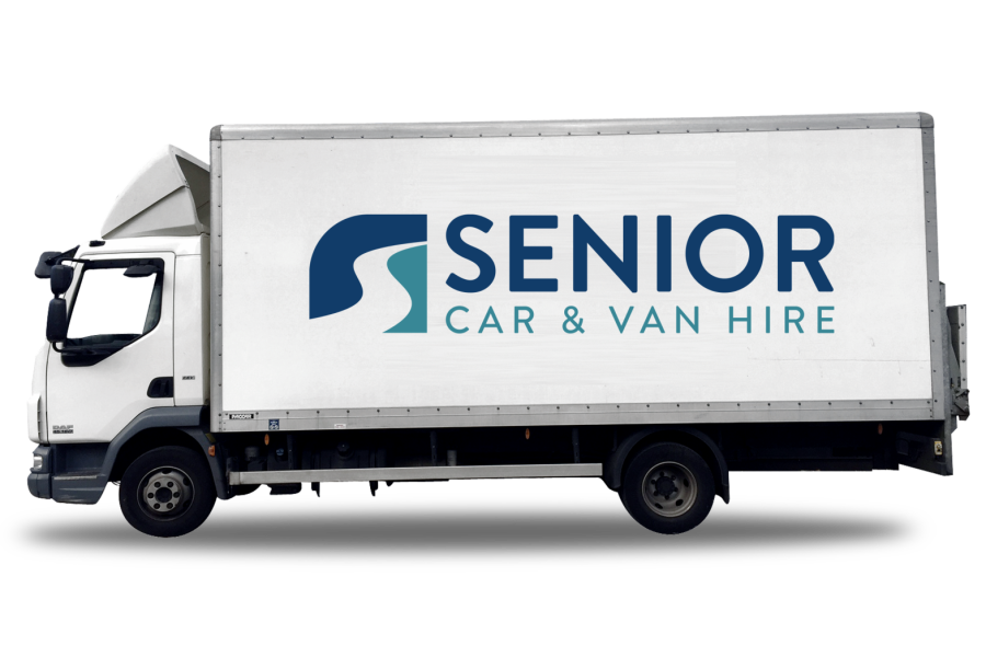 Mercedes Atego for hire from Senior Car & Van Hire