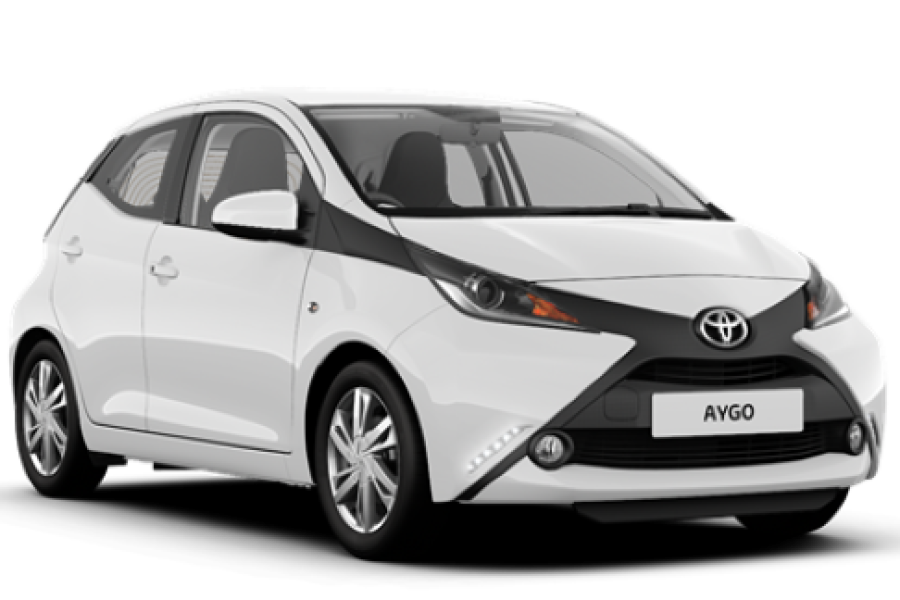 Toyota Aygo from Senior Car & Van Hire