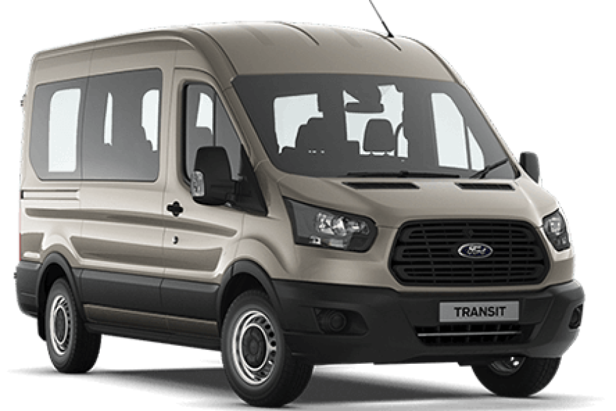 Ford Transit 16 Seat Minibus for hire from Senior Car & Van Hire