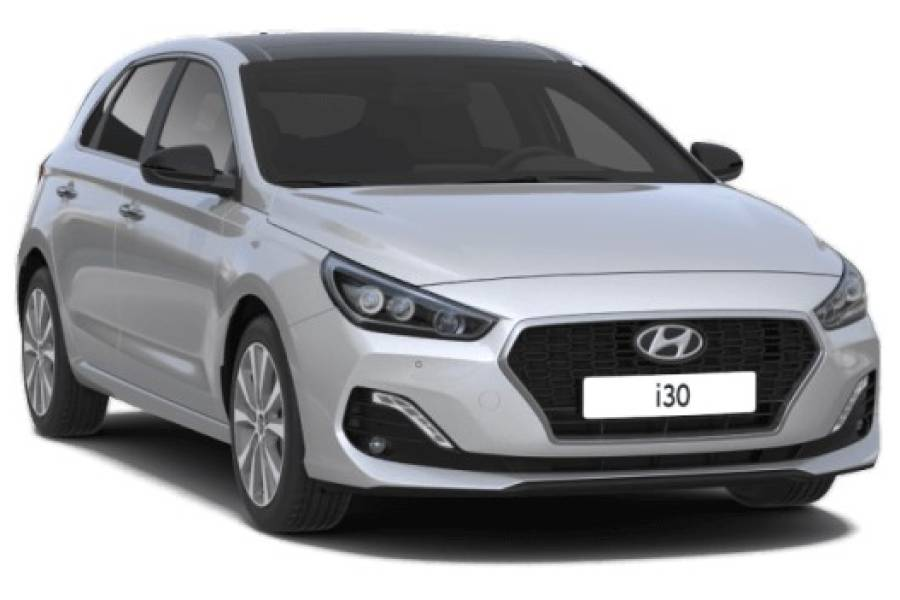 Hyundai i30 for hire from Senior Car & Van Hire