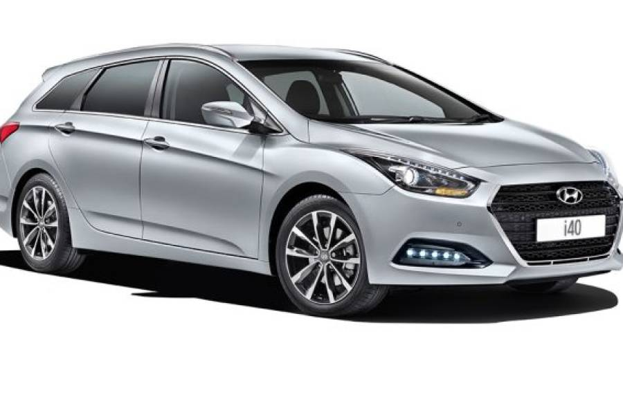 Hyundai i40 for hire from Senior Car & Van Hire