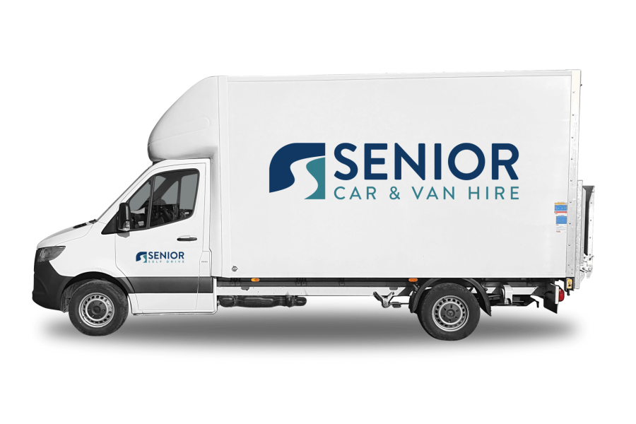 Mercedes Sprinter Luton from Senior Car & Van Hire