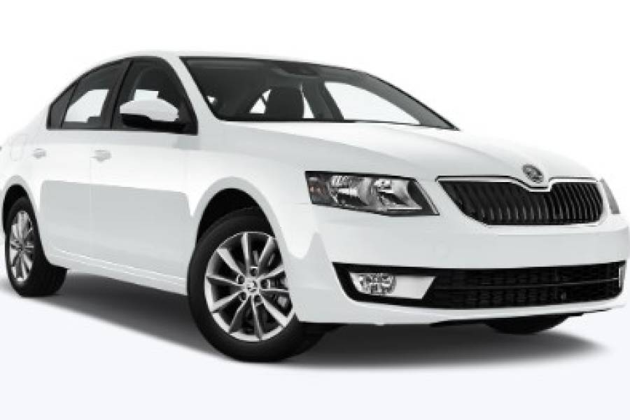 Skoda Octavia for hire from Senior Car & Van Hire
